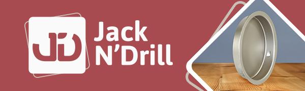 jack n drill home diy jnd round finger door pull cabinet storage