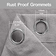Rust proof grommet