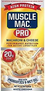 probiotic MCT Oil mac n cheese macaroni cheetos easy mac amp; cheese