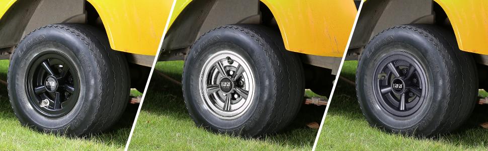 Golf Cart Wheel Covers Hub Caps 8 inch