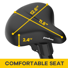 sensior big seat