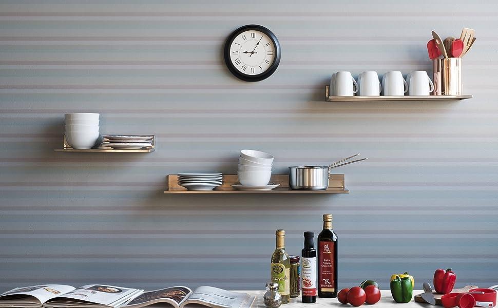 Kitchen shelves coffee mug holder wall mounted coffee mug holder stand kitchen utensil holder