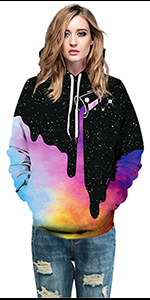 3D hoodies women