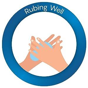 rub hands
