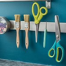 16 Inch Stainless Steel Magnetic Knife Bar - Use as Knife Holder, Knife Rack, Knife Strip, Kitchen
