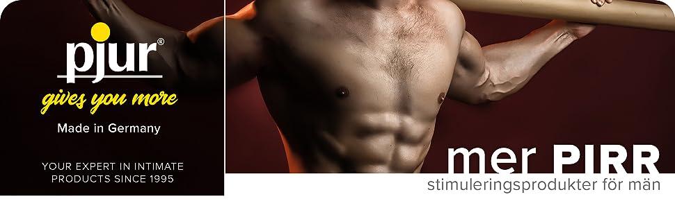 mer pirr – stimuleringsprodukter för män