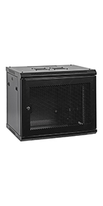 Wall Mount IT Network Cabinet Enclosure 19-Inch Server Rack