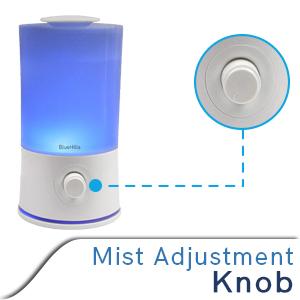 mist adjustment