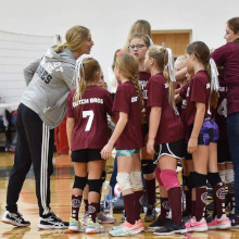Team Huddle Volleyball Socks