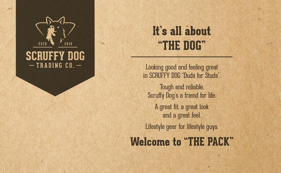 Scruffy Dog Trading Co. - The Dog Story