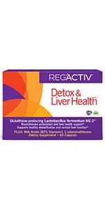 Reg'Activ Detox amp; Liver Box