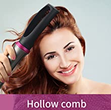 Hollow Comb Head add lift & volume at hair root