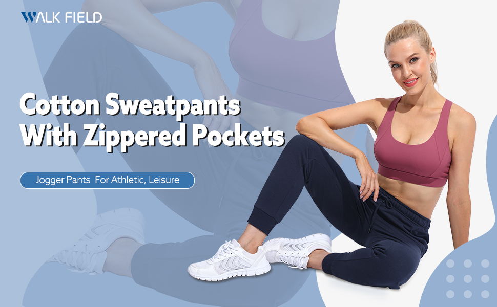 Sweatpants with Zippered Pockets