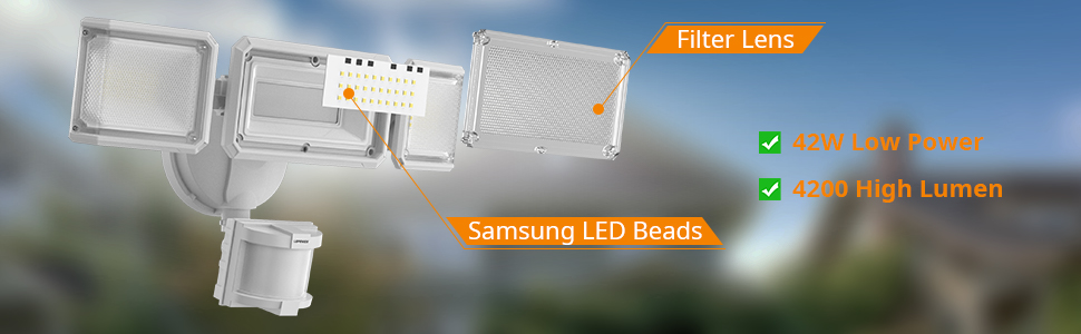 new version security light outdoor