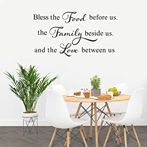 Horse Bless The Food Before Us The Family Beside Us Satin Poster 4 Sizes