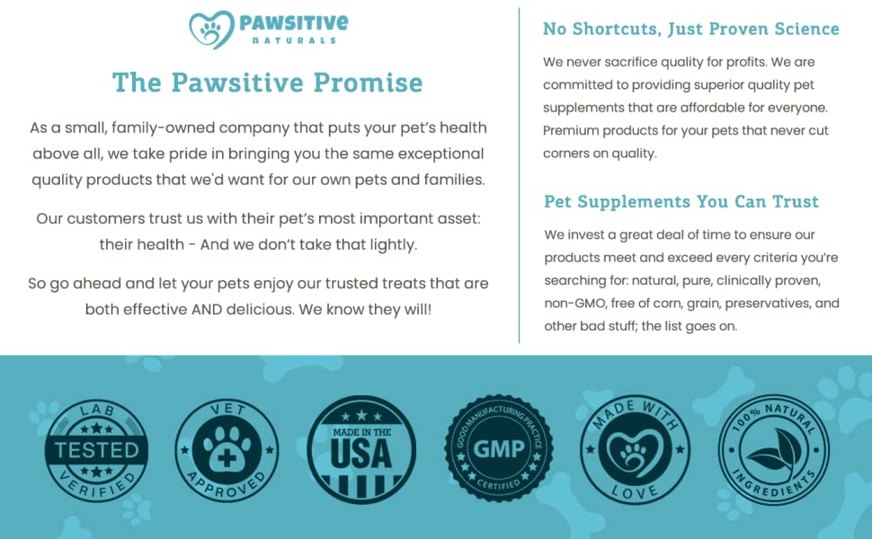 pawsitive naturals calming chews for dogs