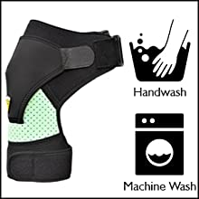 Shoulder support brace can be easily washed in washing machine