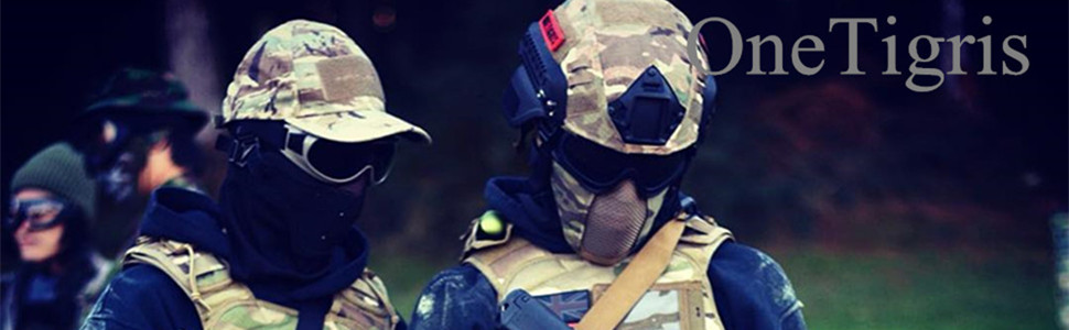 OneTigris Mesh Face Mask for Airsoft Games