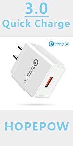 Quick Charge 3.0充電器