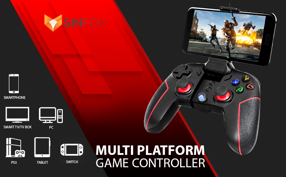 Sinfox Multi Platform Game Controller