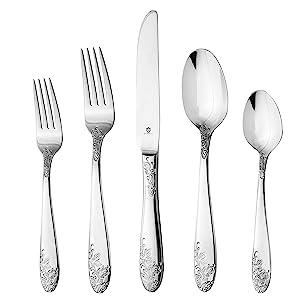 Danialli Imperial silverware set