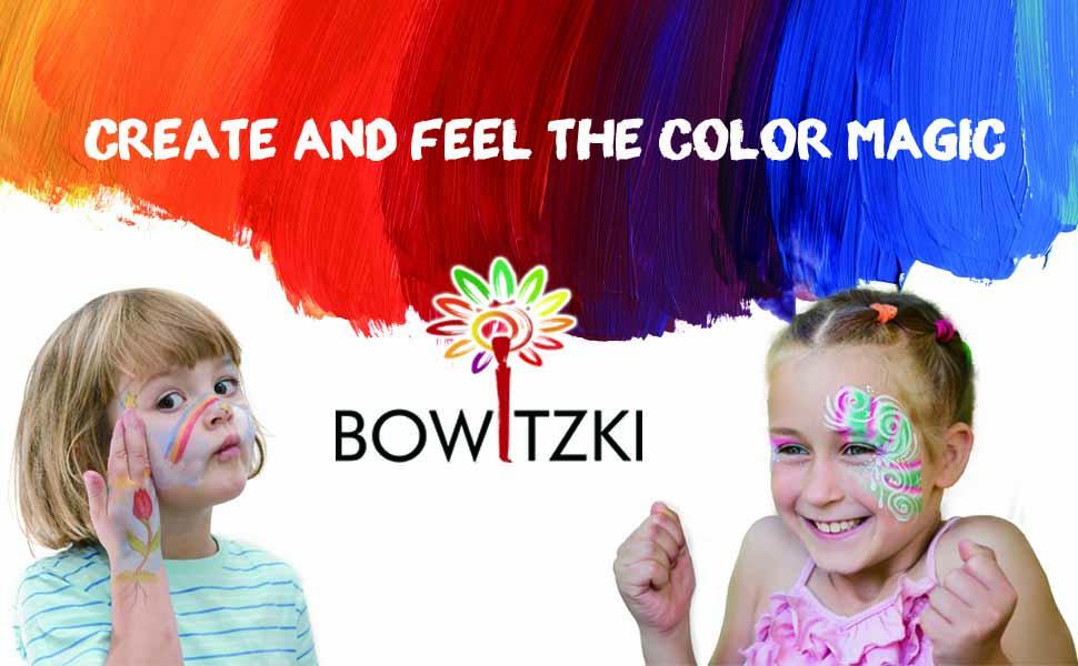 face paint banner