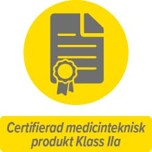 Certifierad medicinteknisk produkt Klass IIa