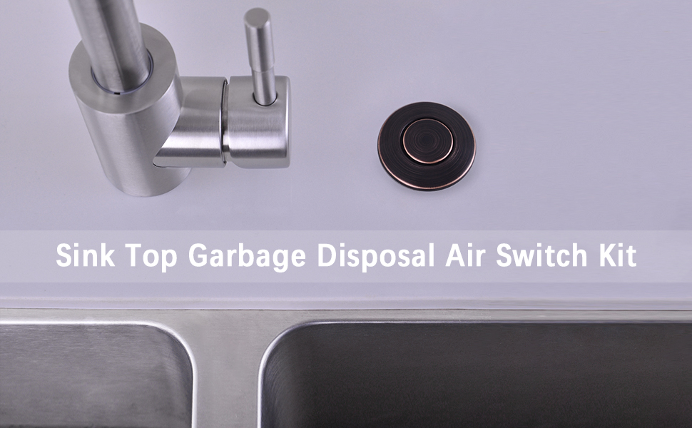 garbage disposal switch button