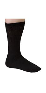 Diabetic sock, Crew socks, Wide Calf socks , socks for over weight people