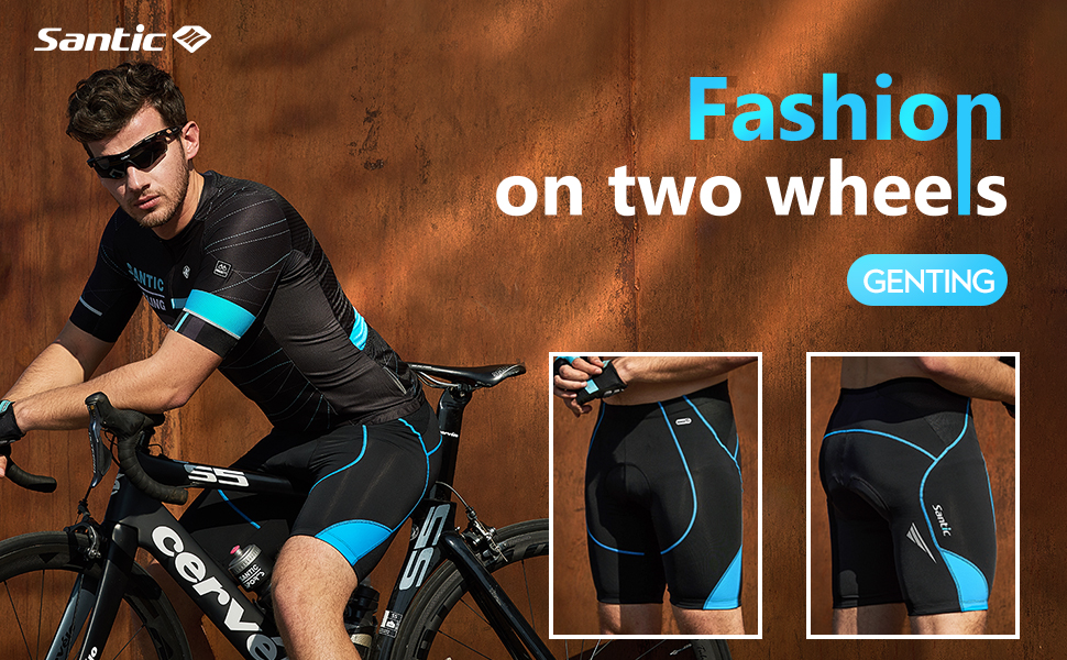 cycling shorts men 4d padded