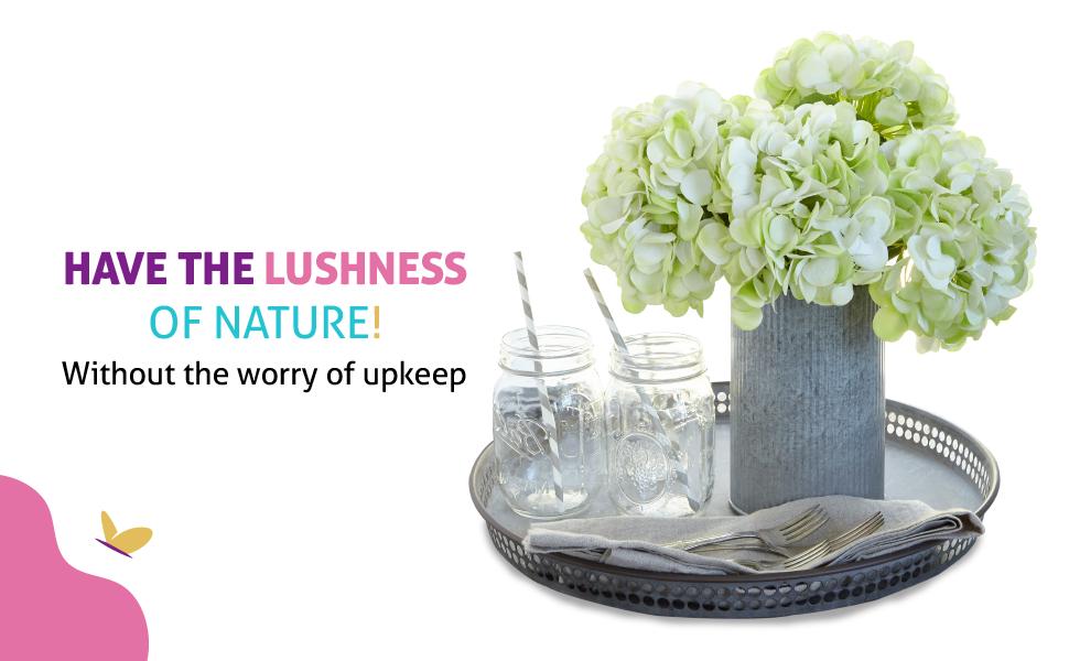 flowers, decoration, hydrangea