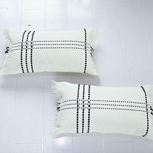 home decor small office black white stripe chair fun soft lumbar bed farmhouse accent