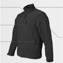 Front softshell jacket