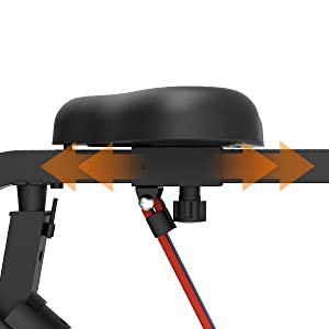 stationary exercise bike folding