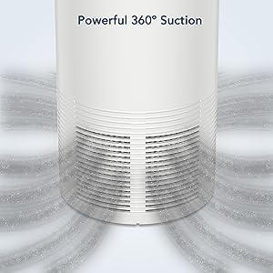 360º Air Tight Suction