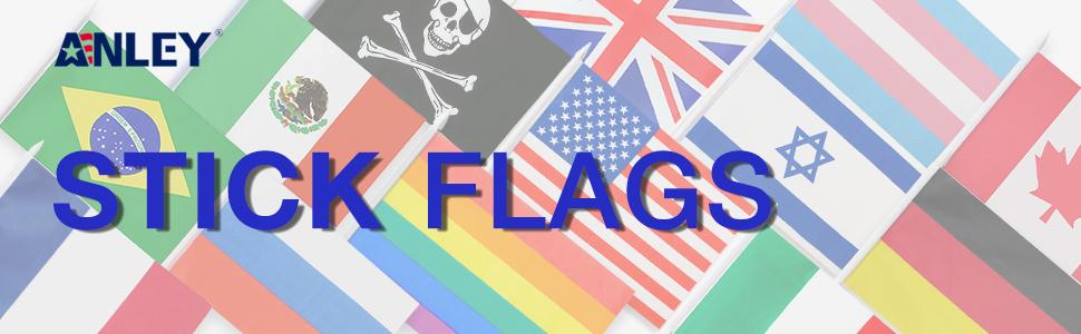 stick flag