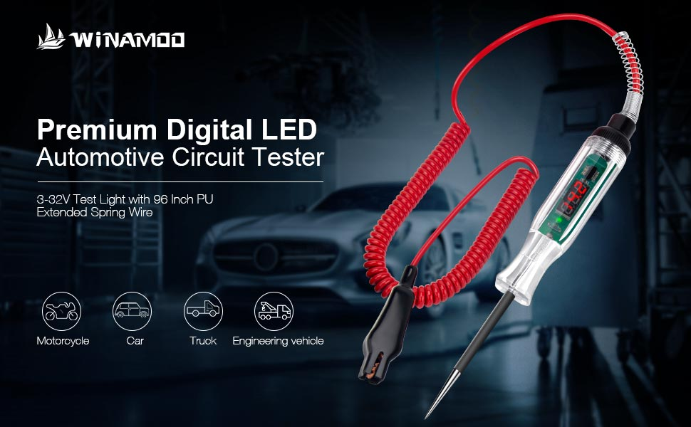 digital test light