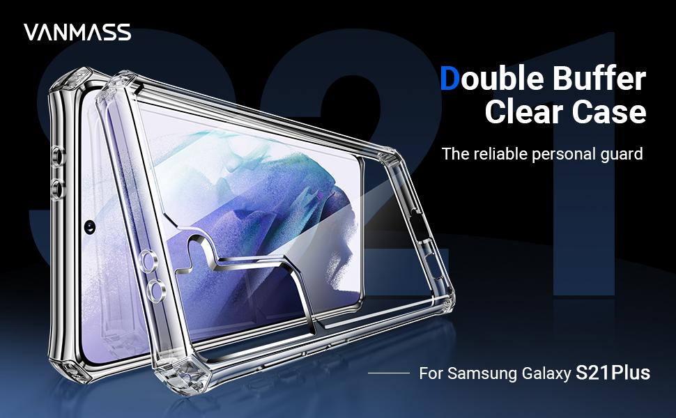 Double buffer clear case