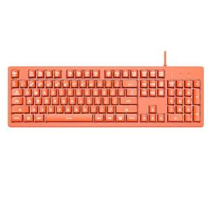 Standard 104key keyboard layout