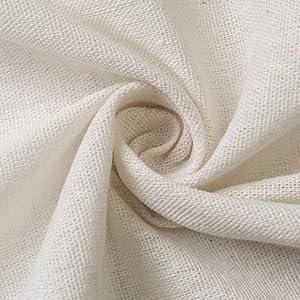 130x100cm Solid Colour Linen Cloth QOONESTL Linen Needlework Fabric Cotton Soft Patchwork Fabric Linen Curtain Cloth for Garments Craft