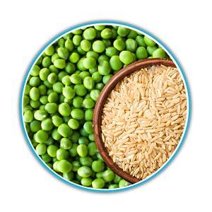 IN2 Plant protein, pea Protein, NON-GMO peas, brown rice, Organic, Vegan, Protein, Amino Acid, BCAA