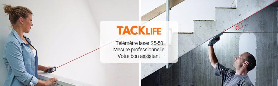 Télémètre laser S5 50M