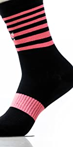 Pink Galaxy fitness socks for men with plantar support