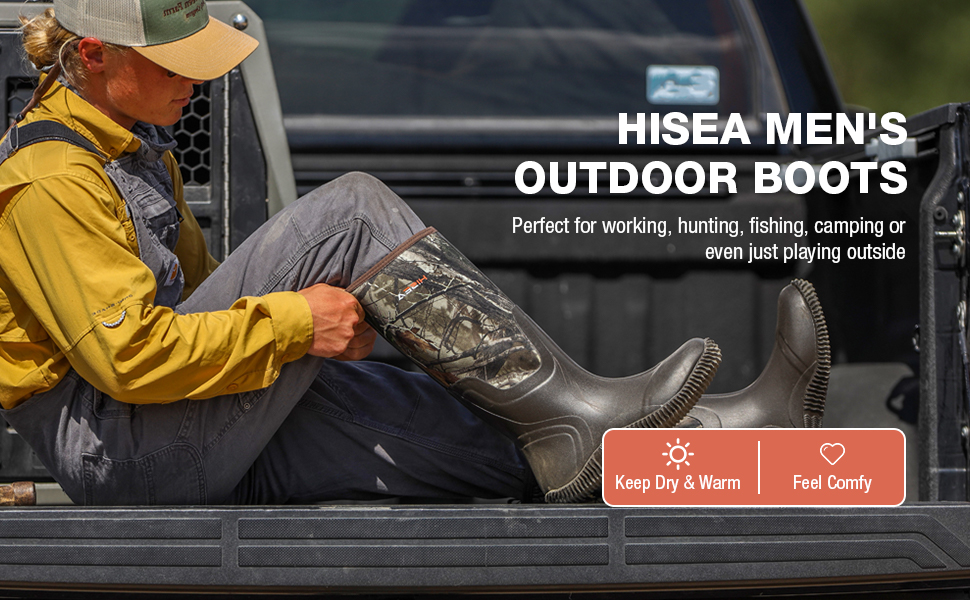 hisea rain boots