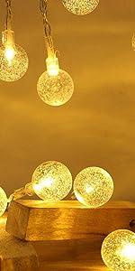 round string lights