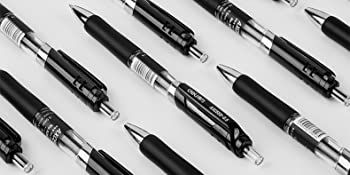 3 Uds Bolígrafo De Gel Negro De 0 5mm Bolígrafo De Recarga De Tinta De Color Negro Bolígrafos De Papelería Firma De Oficina Suministros Escolares Canetas F819