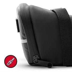 waterproof, zipper, saddlebag