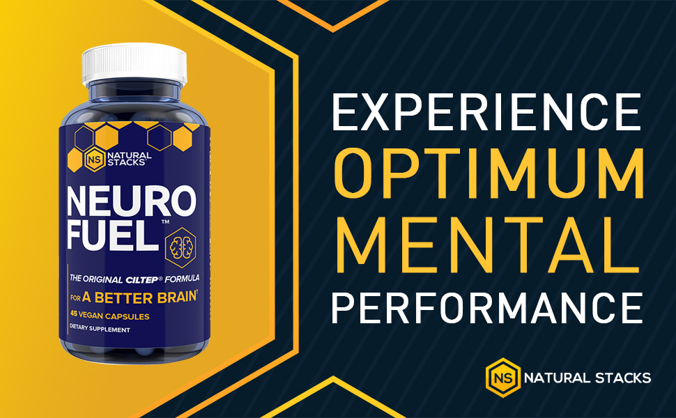 Natural Stacks Neurofuel 45 ct. - Sharpen Focus and Improved Memory - Original CILTEP Formula - Nootropic Supplement for Brain - All Natural Artichoke Herbal Supplement w/Forksolin: Amazon.sg: Health & Personal Care