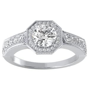 Solitaire Engagement Ring for Women