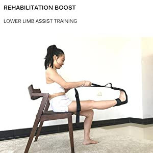 Exercise /& Physical Therapy Belt Foot Drop Strap Leg Training Foot Correct Ankle XXYYKK Yoga Ligament Stretching Belt Foot Drop Strap Leg Training Foot Ankle Correct Leg Foot Stretch Assist